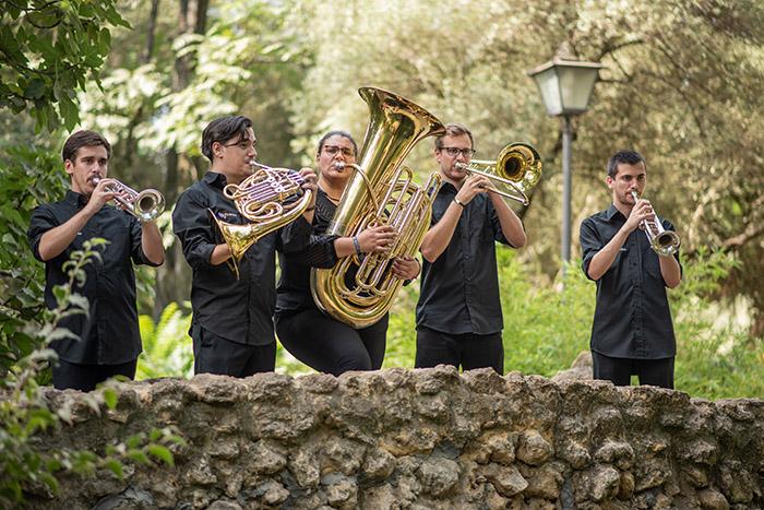 Quinteto de metales en Sevilla - Canciones