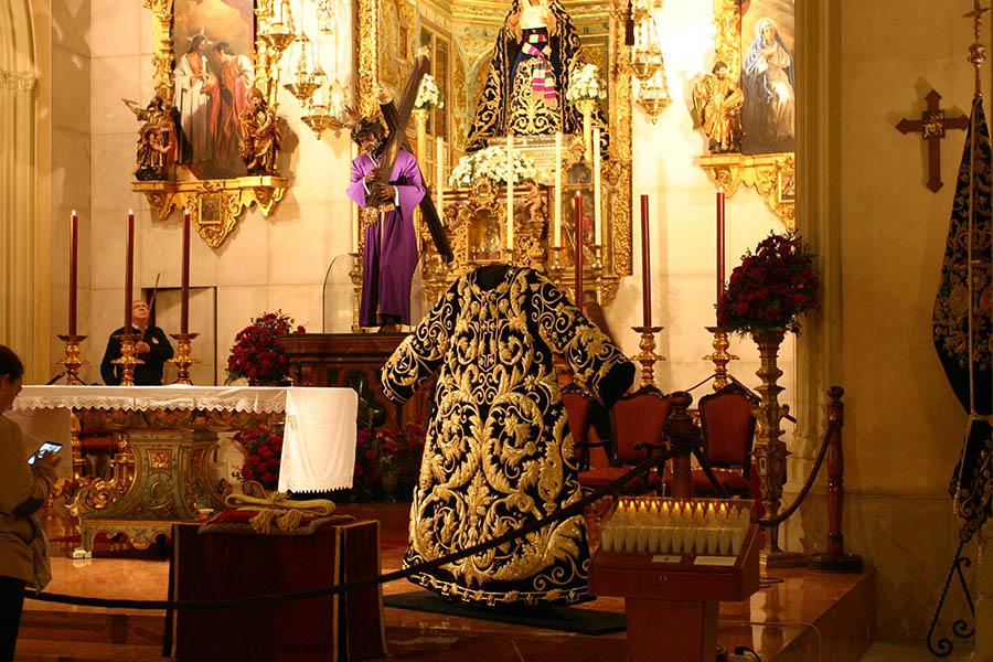 Misa en el Santuario de los Gitanos