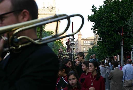 Quinteto de metales en Sevilla - Traslados Hermandades
