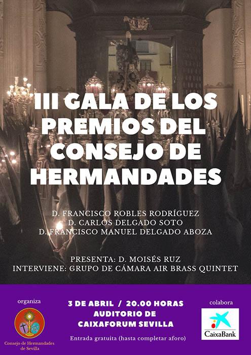 III Gala Premios del Consejo de Hermandades
