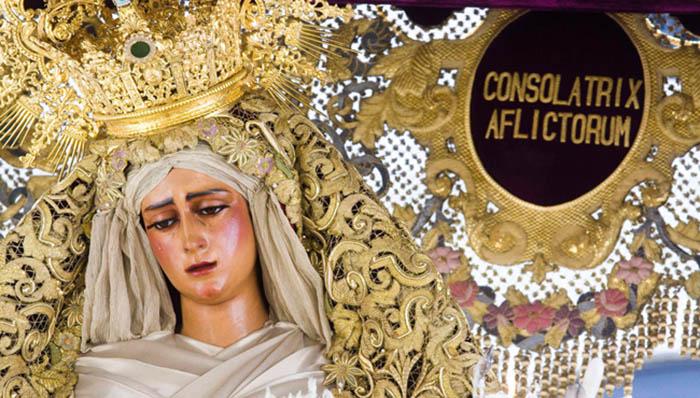 Virgen de las Angustias - Hermandad de los Gitanos